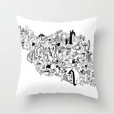 IRAN Throw Pillow