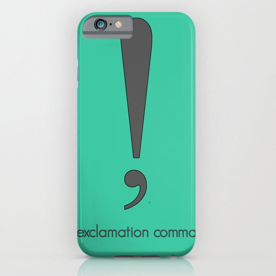 Exclamation Comma iPhone & iPod Case
