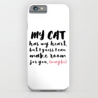 My Cat Has My Heart - Pi… iPhone 6 Slim Case