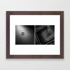 In/Out Framed Art Print