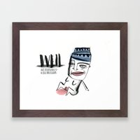 W E I L  Framed Art Print