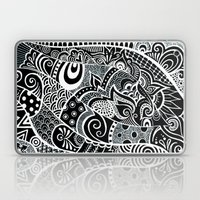 Tangled fishes Laptop & iPad Skin