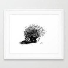 Flower Pot Framed Art Print