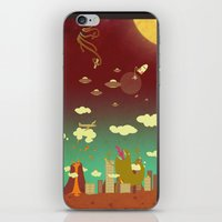 The End Of The World As … iPhone & iPod Skin