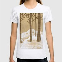 Forest is Alive! Womens Fitted Tee Ash Grey SMALL