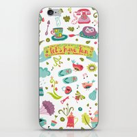Let's have some FUN iPhone & iPod Skin
