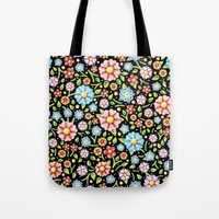 Ditsy Millefiori Pattern Tote Bag