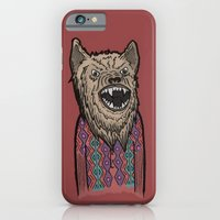 Hipster Wolf iPhone 6 Slim Case