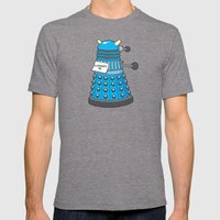 Exterminate Me Variant (… Mens Fitted Tee Tri-Grey SMALL