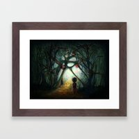 Through the Dream Framed Art Print