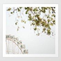 the wheel2 Art Print