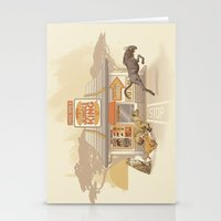 Fast Food (Jungle King) Stationery Cards