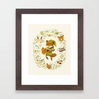 The Legend of Zelda: Mammal's Mask Framed Art Print