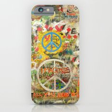 Peace Sign - Love - Graf… iPhone 6 Slim Case