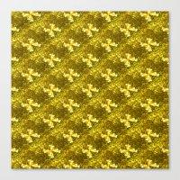Golden Bows  Canvas Print