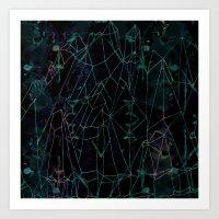 Crystal peak Art Print