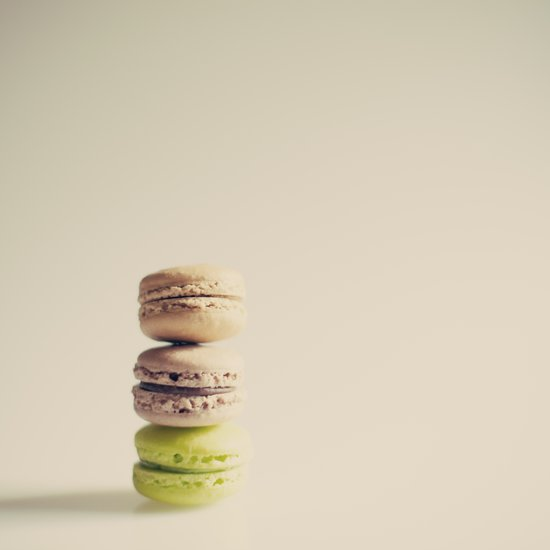 The lonely macaroons  Canvas Print