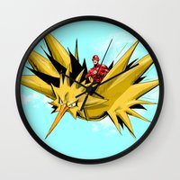 Flash-Dos Wall Clock