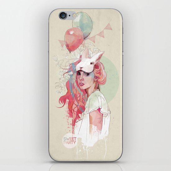Sweet Party iPhone & iPod Skin