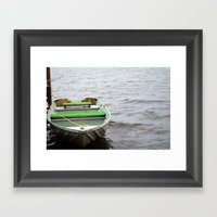 Let's Go For A Ride Framed Art Print
