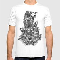 Voodoo Mens Fitted Tee White SMALL