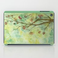 Branch With Flowers iPad Case