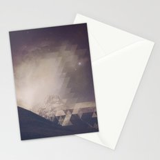 Space Mountain Stationery Cards