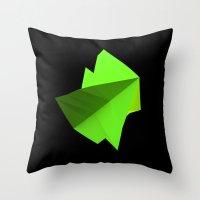 Wind Data Form - June Throw Pillow