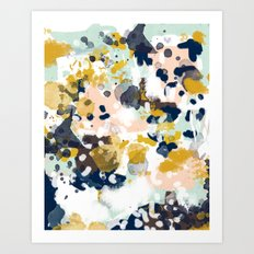 Sloane - Abstract Painti… Art Print