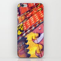 March To Your Own Beating Drum iPhone & iPod Skin