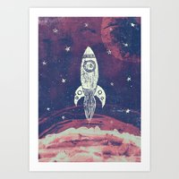 Space Adventure Art Print