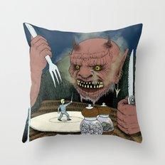Appetizer Throw Pillow