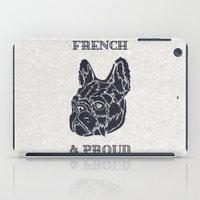 French & Proud iPad Case