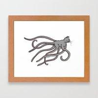 Octopussy (2014) colour Framed Art Print
