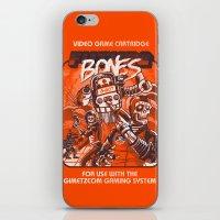 Future Bones iPhone & iPod Skin
