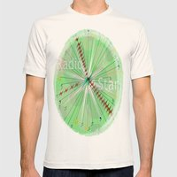 Radio Star Mens Fitted Tee Natural SMALL