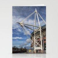 Millenium Stadium, Cardiff. Stationery Cards