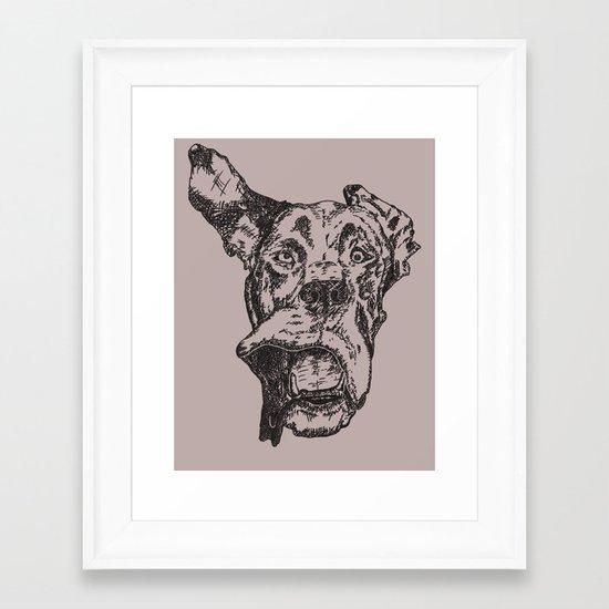 Marmaduke Framed Art Print