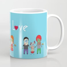 Love is Love Blue - We Are All Equal Mug