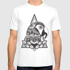 GUACAmaya SMALL White Mens Fitted Tee
