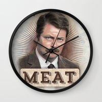 If It Doesn't Have Meat,… Wall Clock