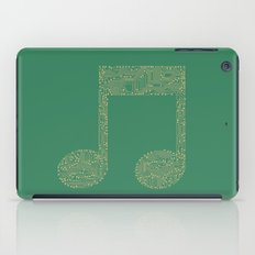 Techno Music iPad Case