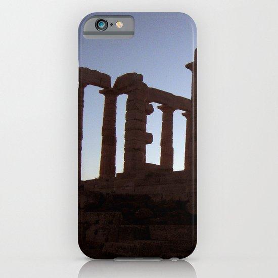 Temple of Poseidon iPhone & iPod Case