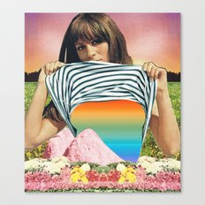 Internal Rainbow II Canvas Print