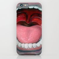 iPhone & iPod Case featuring Say AAAH!! by carlosPARCE