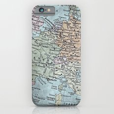 old map of Europe Slim Case iPhone 6s