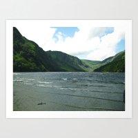 Mountain Sea Art Print