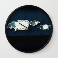 Wolf In Sheep's Clothing Wall Clock