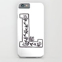 iPhone & iPod Case featuring L is for by Katie L Allen