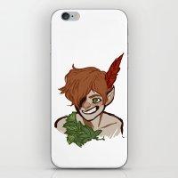 An Awfully Big Adventure iPhone & iPod Skin
